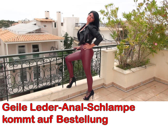 Video Thumbnail Geile Leder-Anal-Schlampe kommt auf Bestellung