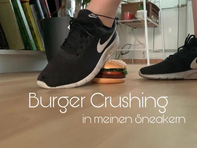 Video Thumbnail Burger-Crushing in meinen Sneakern