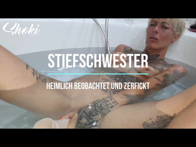 Video Thumbnail Stiefschwester... heimlich beobachtet und zerfickt!
