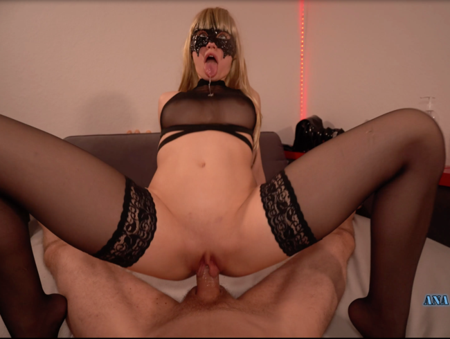 Video Thumbnail Durchgefickt in Nylons + Mesh Pt2: Closeup Doggy, Nylon Footjob, Reverse Cowgirl, Squat, Creampie