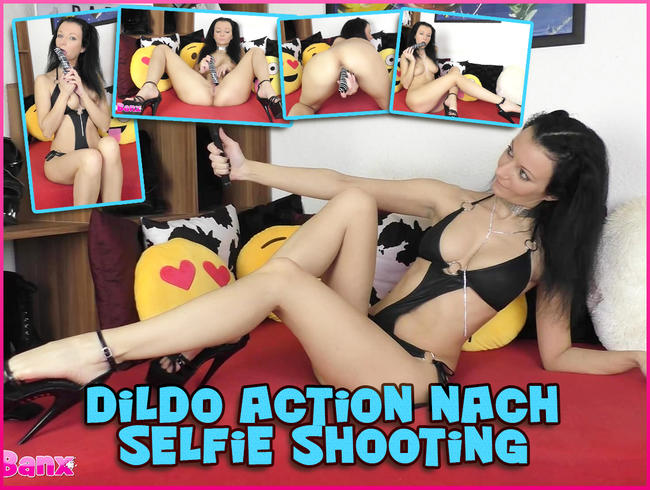 Video Thumbnail Dildo Action nach Selfie Shooting