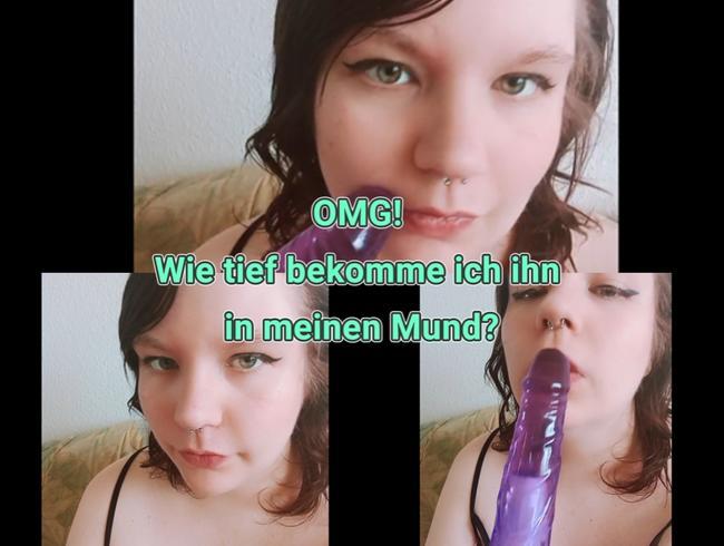 Video Thumbnail OMG! Wie tief bekomme ich Ihn in meinen Mund?