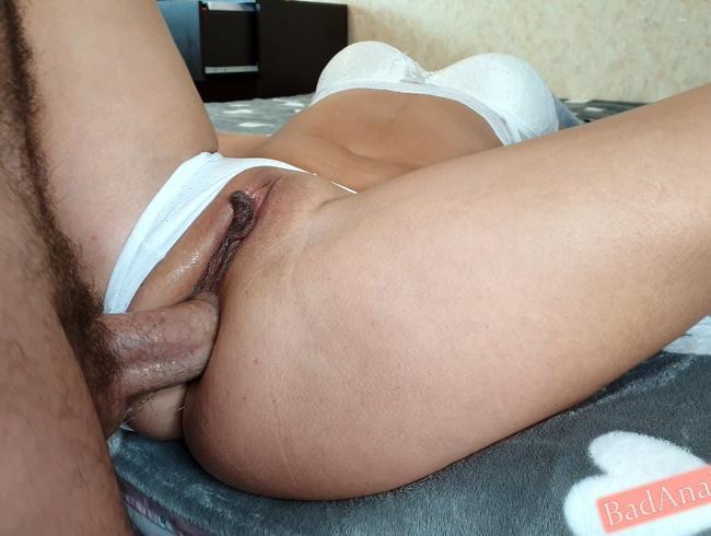 Video Thumbnail Mädchen wurde sehr geil und steckte meinen Schwanz in ihren engen Arsch und bekam Sperma in Anal