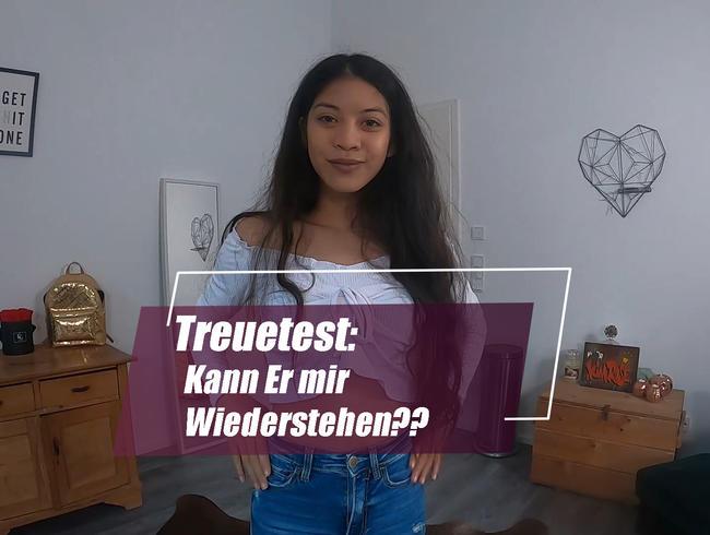 Video Thumbnail Treuetest: Kann Er mir widerstehen ???