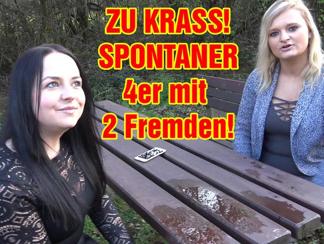 EmmaSecret - ZU KRASS! SPONTANER 4er mit 2 Fremden!