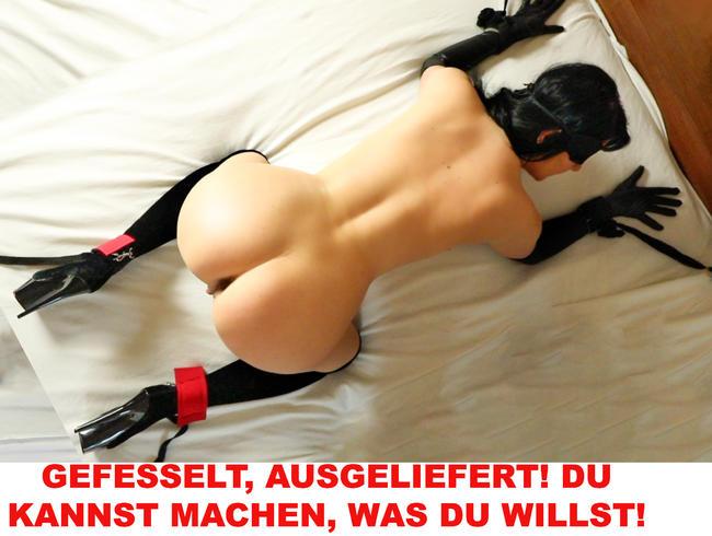Video Thumbnail GEFESSELT, AUSGELIEFERT! DU KANNST MACHEN, WAS DU WILLST!