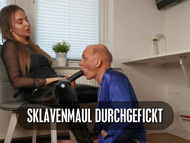 Video Thumbnail Sklavenmaul so richtig durchgefickt