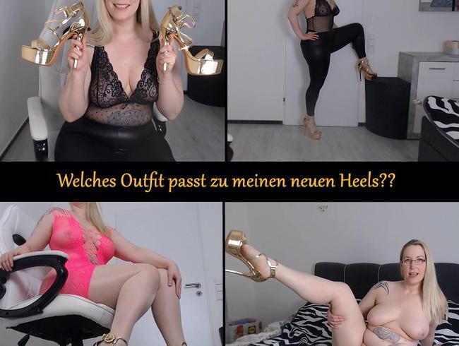 Video Thumbnail Welches Outfit passt zu meinen neuen Heels?