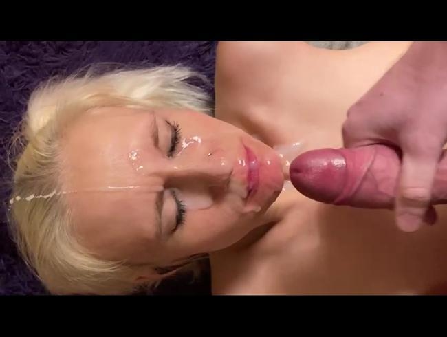 Video Thumbnail Cum Face ins Gesicht gespritzt