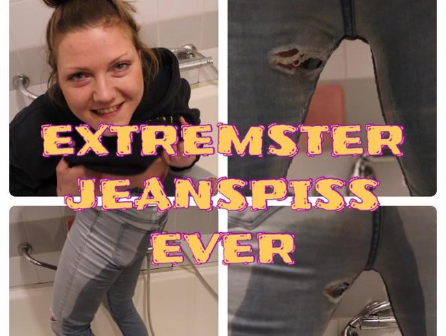 Kinky-Mia - Extremster Jeanspiss ever! Vom User versetzt!