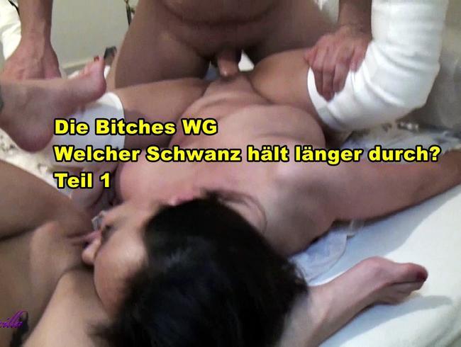 Video Thumbnail Die Bitches WG! Welcher Schwanz hält länger durch? Teil 1