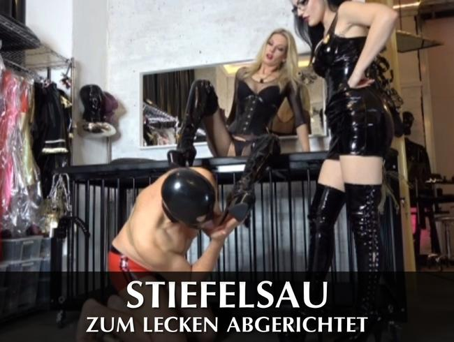 Video Thumbnail Stiefelsau zum Lecken abgerichtet