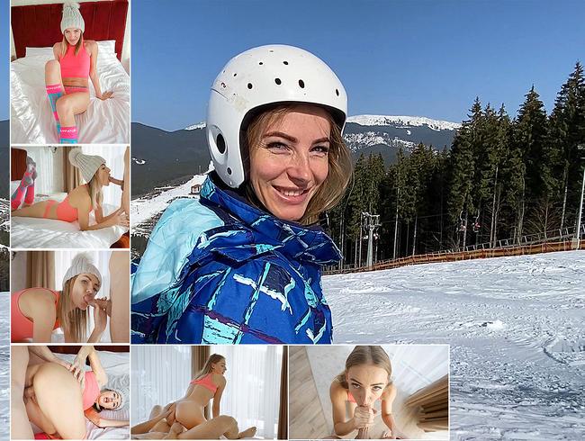 Video Thumbnail Heißer Sex mit Schönem im Skigebiet