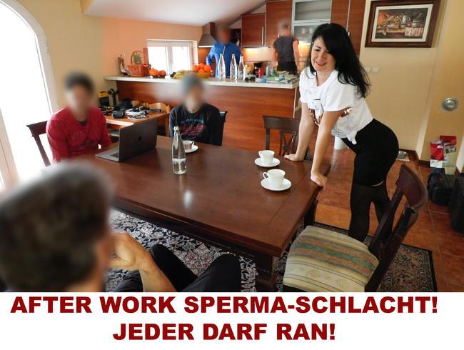 Video Thumbnail AFTER WORK SPERMA-SCHLACHT. JEDER DARF RAN!