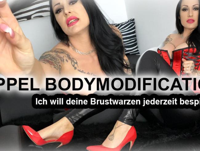 Video Thumbnail NIPPEL-BodyModification! Ich will sie jederzeit bespielen!
