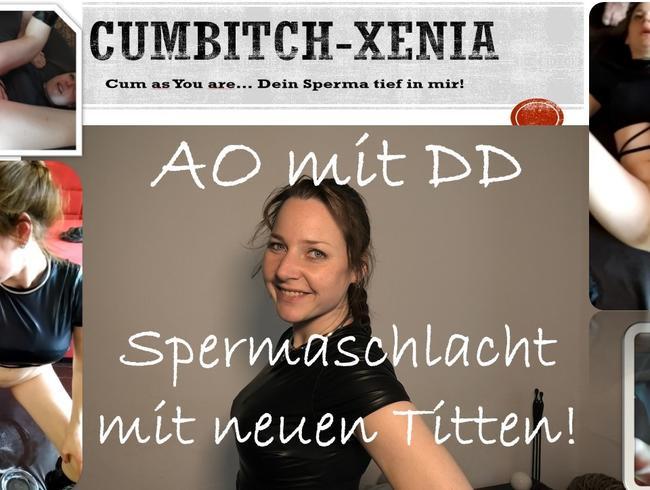 Video Thumbnail AO für DD - Monsterspermaschlacht mit neuen Titten. Creamies Mega Pervers mit Silikontitten!