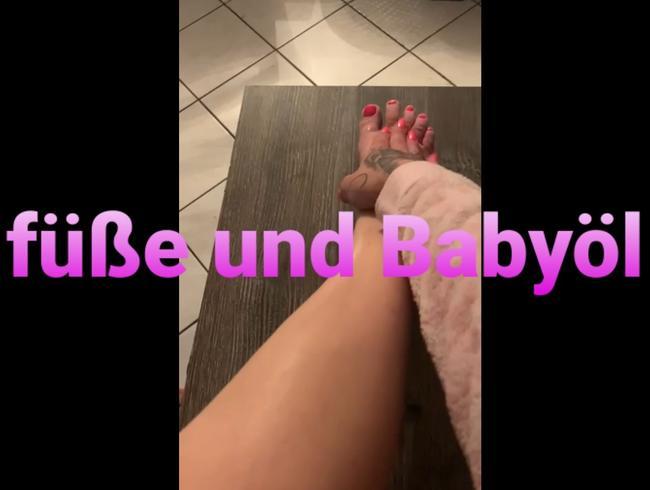 Video Thumbnail Füße und babyöl