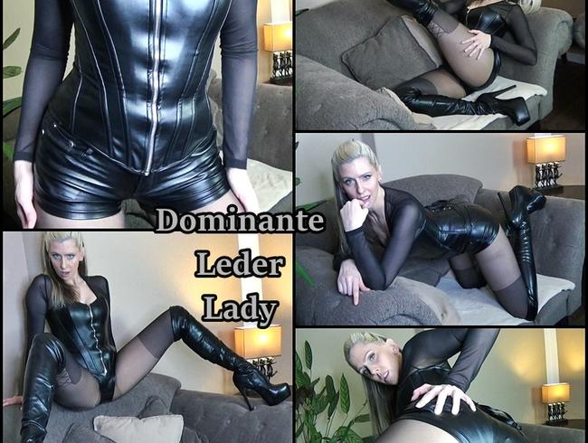 Video Thumbnail Dominante Leder Lady