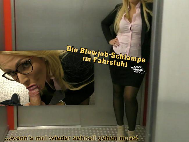 Video Thumbnail Die Blowjob-Schlampe im Fahrstuhl!