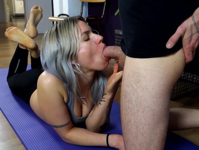 Video Thumbnail Beim Yoga vom Schwanz überrascht!