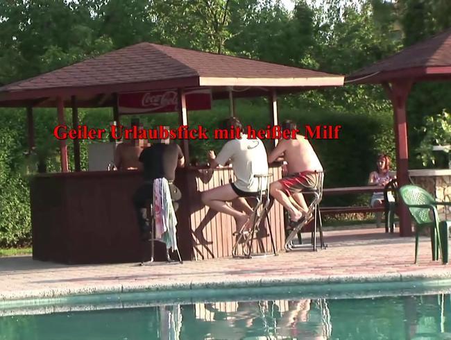 Video Thumbnail PUBLIC: Geiler Urlaubsfick mit heißer Milf