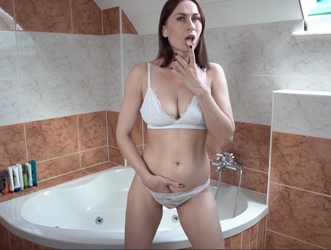Video Thumbnail Spontan erstes Video im Bad gedreht