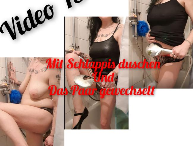 Video Thumbnail Mit Schlappis duschen und Paar gewechselt