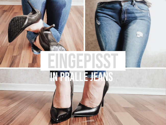 Video Thumbnail In pralle  Jeans eingepisst