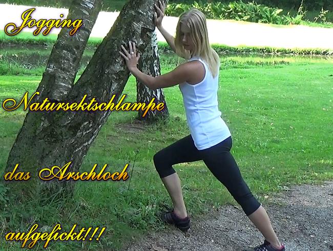 Video Thumbnail Jogging Natursektschlampe das Arschloch aufgefickt!!!