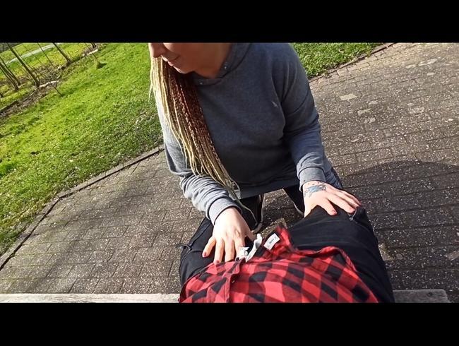 Video Thumbnail Habe ich das jetzt wirklich getan???Public BJ mitten im Park