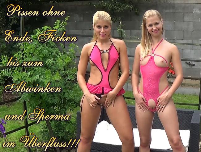 Video Thumbnail Pissen ohne Ende, Ficken bis zum Abwinken und Sperma im Überfluss!!!