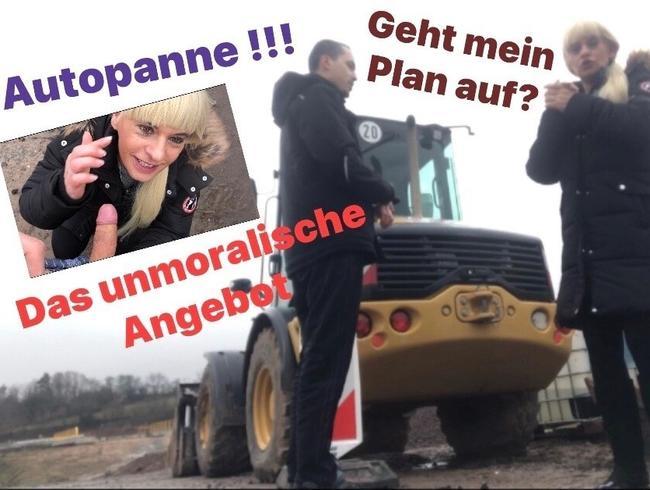 Video Thumbnail Autopanne !! Was nun ? Bauarbeiter bestochen geht mein Plan