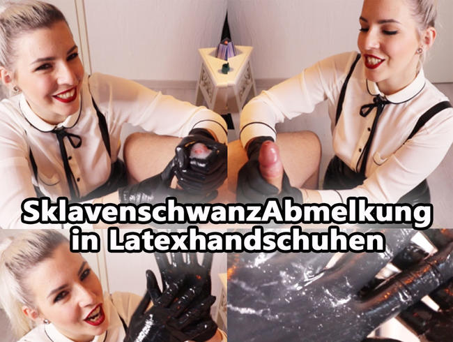 Video Thumbnail SklavenschwanzABMELKUNG in LATEXhandschuhen
