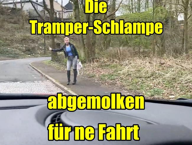 Video Thumbnail Die Tramper-Schlampe abgemolken für ne fahrt