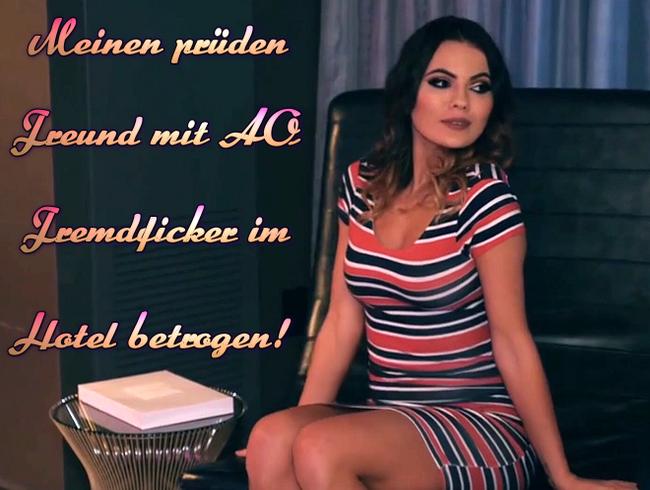 Video Thumbnail Meinen prüden Freund mit AO Fremdficker im Hotel betrogen!