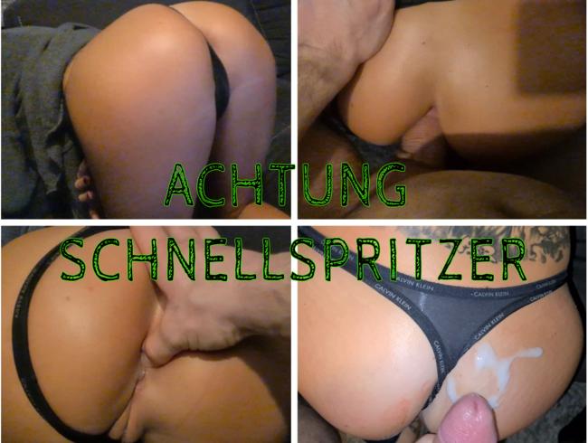 Video Thumbnail SCHNELLSPRITZER - NUR 3 MINUTEN HAT ER ES IN MEINEM ARSCH AUSGEHALTEN!