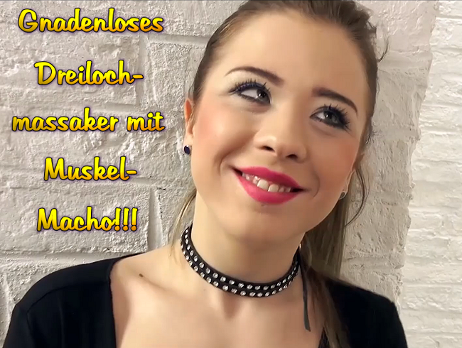 Video Thumbnail Gnadenloses Dreilochmassaker mit Muskel-Macho!!!