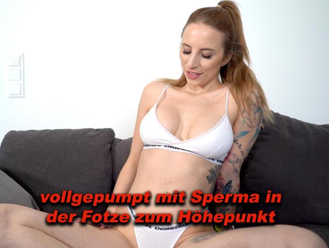 Video Thumbnail vollgepumpt mit Sperma in der Fotze zum Höhepunkt!!!