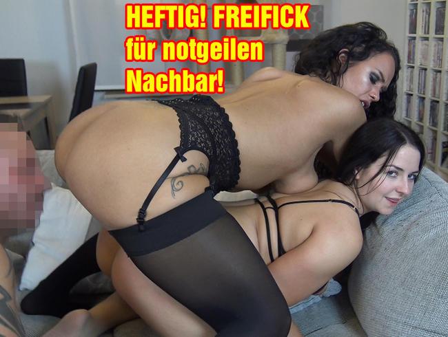 EmmaSecret - HEFTIG! FREIFICK für notgeilen Nachbar!