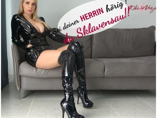 Video Thumbnail Sei deiner Herrin hörig!, du Sklavensau!!