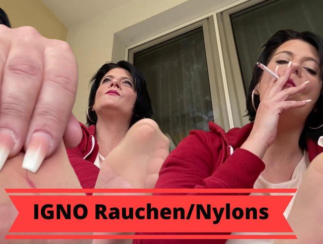 Video Thumbnail Beim Rauchen in Nylons ignoriert