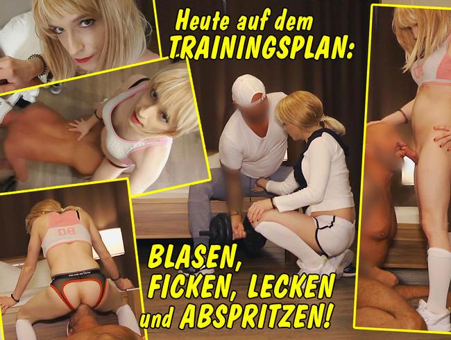 Video Thumbnail Heute auf dem Trainingsplan: blasen, ficken, lecken und abspritzen!