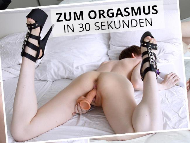Video Thumbnail Zum Orgasmus in 30 Sekunden
