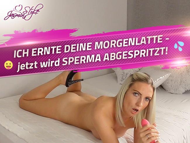 Video Thumbnail ICH ERNTE DEINE MORGENLATTE - jetzt wird SPERMA ABGESPRITZT!
