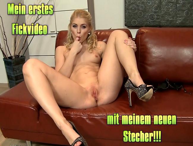 Video Thumbnail Mein erstes Fickvideo mit meinem neuen Stecher!!!