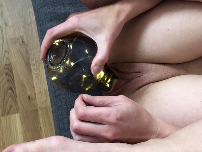 Video Thumbnail Mit Glühlampe gefickt