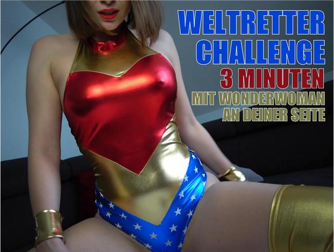 Video Thumbnail 3 Minuten Challenge mit Wonderwoman!