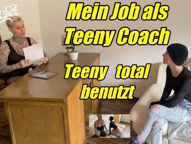 Video Thumbnail Mein Job als Teeny Coach...Teeny total benutzt
