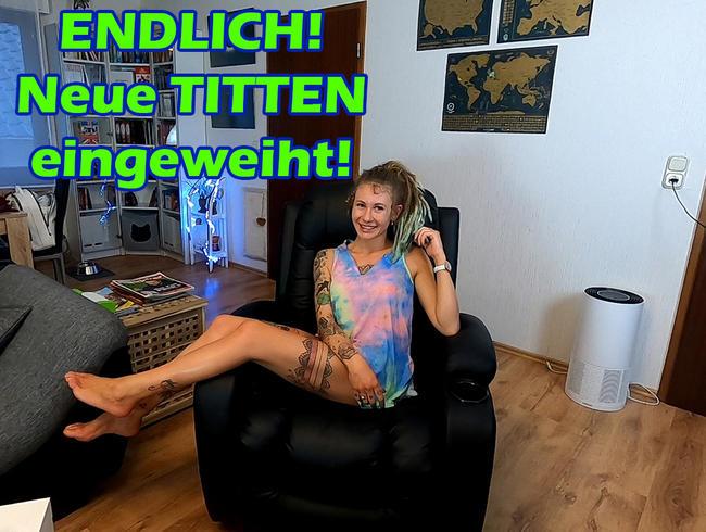 Video Thumbnail ENDLICH! Neue Titten eingeweiht!