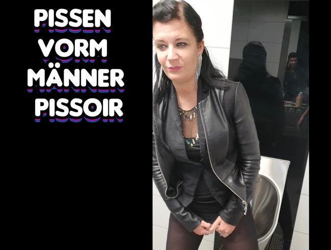 Video Thumbnail Pissen vorm Männer Pissoir.